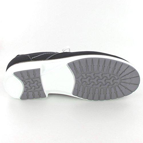 02233427050 Azul Mujer Zapatos De Finn Comfort Cordones Para 7n6q5xAwvS