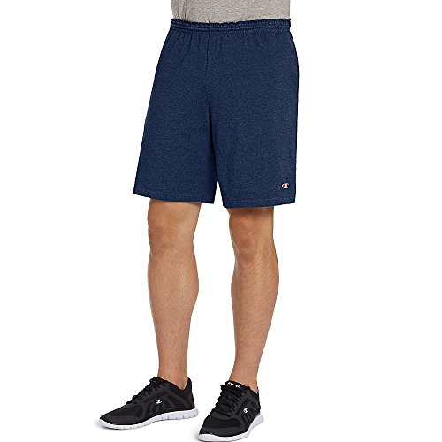 (Champion Authentic Cotton 9-Inch Men's Shorts with)