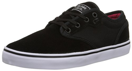 Globe Men's Motley Skateboard Shoe Black/Black Cord