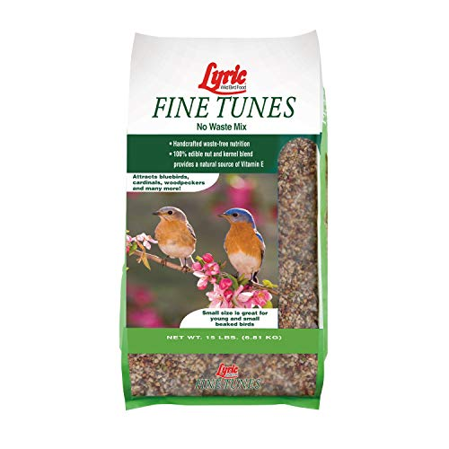Lyric 2647440 Fine Tunes No Waste Bird Seed Mix, 15 lb