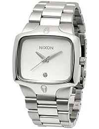 Nixon Men's NXA140130 Stainless Steel Silver Dial Watch