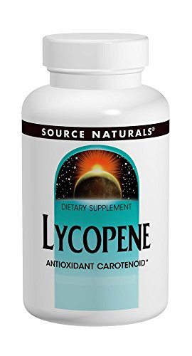 Source Naturals Lycopene 15mg, Antioxidant Carotenoid 60 Softgels