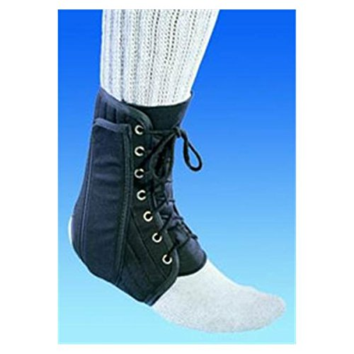 WP000-79-81313 79-81313 Brace Ankle Support Procare Canvas/ Plastic Small 79-81313 From DJO, Inc Quantity 1 - Ankle Canvas Up Brace Lace