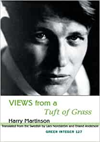 harry martinsons views from a tuft of grass essay Amazonin - buy views from a tuft of grass (green integer) book online at best prices in india on amazonin read views from a tuft of grass (green integer) book reviews & author details and more at amazonin free delivery on qualified orders.