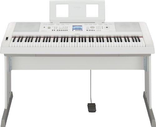 Yamaha DGX-650WH Digital Piano weiß