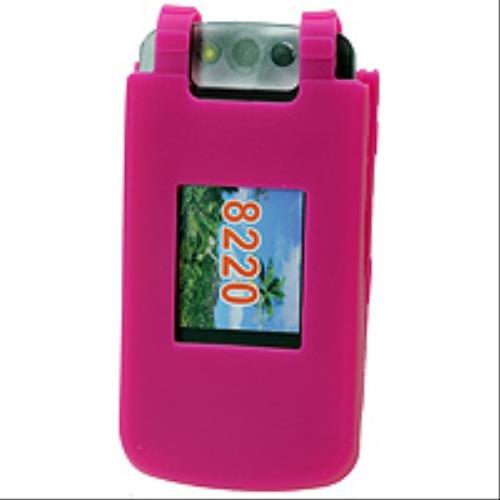 (Cellet RIM BlackBerry Pearl Flip 8220 Hot Pink Jelly)