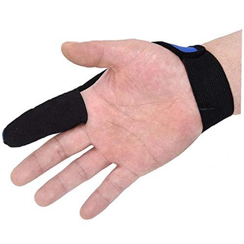 Lederhandschuhe DREI Finger Bequemer Langlebiger Fingerschutz f/ür den Fingerschutz Beim Bogenschie/ßen
