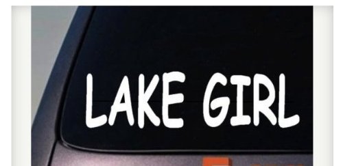 Sticker Window Vinyl Decal Girlie