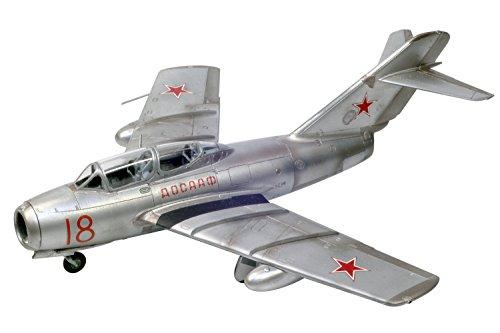 プラッツ 1/72 航空模型特選シリーズ ソビエト空軍 MiG-15 UTI/ミグ15複座型 プラモデル AE-6