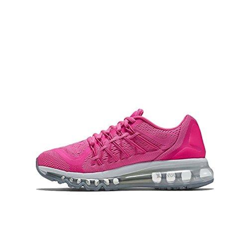 Nike Kids Air Max 2015 (GS) Pink Pow/Pnk Pow/Vvd Pnk/Whit...