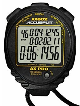 - ACCUSPLIT 500 Memory Stopwatch, Black