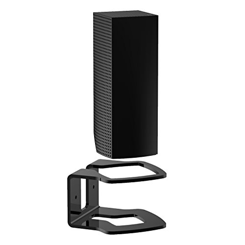 YCL Wall Mount Bracket Space-Saving Compatible with Linksys Velop Sturdy Acrylic Wall Mount Stand Holder for Linksys Velop Whole Home WiFi Mesh System,Black