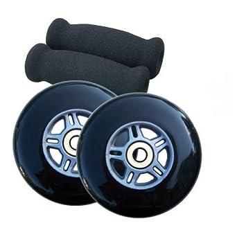 TGM Skateboards Replacement Razor Scooter Wheels, ABEC 7 Bearings, Handle  Bar Grips