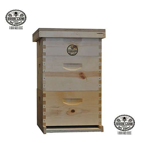 Goodland Bee Supply Complete 3 tier Beginners Bee Hive Kit - GL3STACK