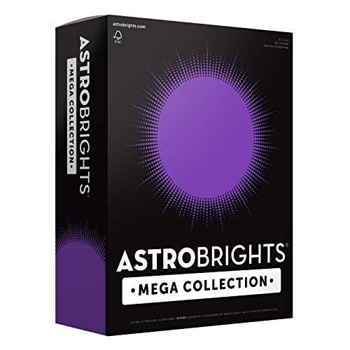 Astrobrights Mega Collection, Colored