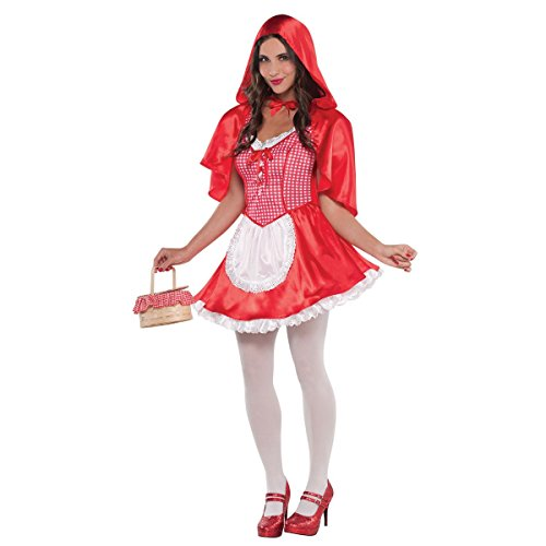 Little Red Riding Hood Wolf Slayer Costumes - amscan Adult Miss Red Riding Hood