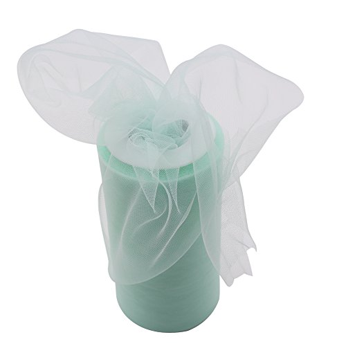NEW RETAIL LI Classic Fabric Tulle Bolt of 50-Yard for Wedding and Decoration (Green) (Neon Tutus For Sale)