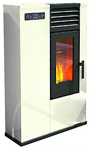 Estufa a PELLAS punto Fuego Susy Marfil Max 6 kW – 70/150 m³ –
