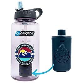Epic Nalgene OG | Water Bottle with Filter | USA Made Bottle and Filter | Dishwasher Safe | Filtered Water Bottle…