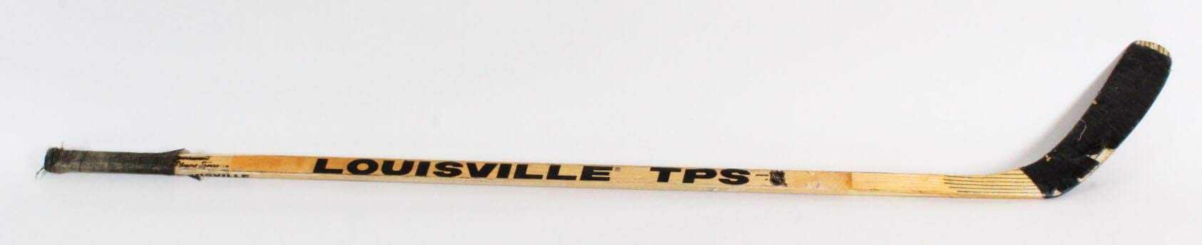 Mike Donnelly Game Used Hockey Stick COA Game Used NHL Sticks