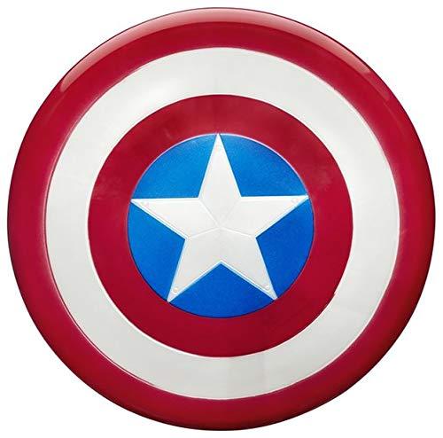 Marvel Captain America Shield Iron On Transfer for T-Shirts & Other Light Color Fabrics #2 Divine Bovinity (Diy Captain America Shirt)