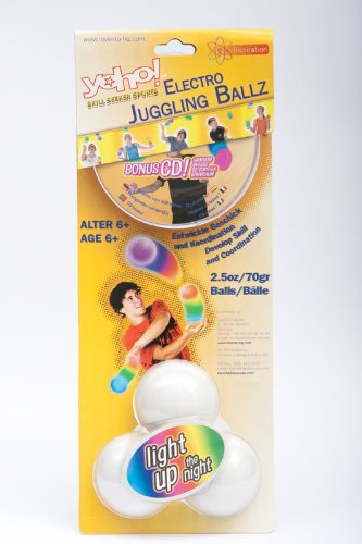 YoHo Electro LED Juggling - Led Juggling Balls
