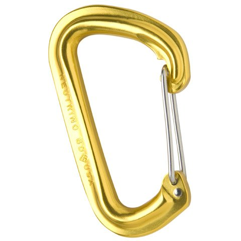Black Diamond Neutrino Carabiner – Grey, Outdoor Stuffs