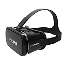 Gikfun Virtual Reality Headset 3D VR Glasses for 4-6 inch Smartphones iPhone 6 6 Plus, Samsung Galaxy S7 S6 Edge EK3029C