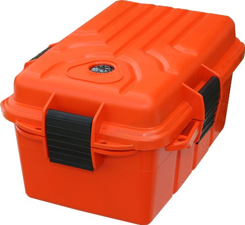 MTM Survivor Dry Box with O-Ring Seal (Orange, - Outlets Orange Map