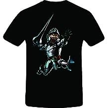 Ghosts 'n Goblins, Best Quality Costum Tshirt (L, BLACK)
