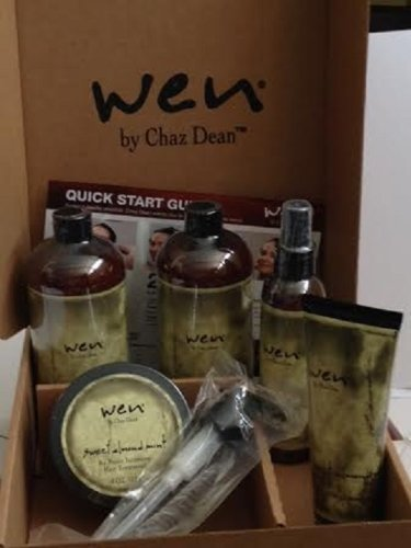 WEN Sweet Almond Mint Cleansing and Styling Kit by WEN® by Chaz Dean