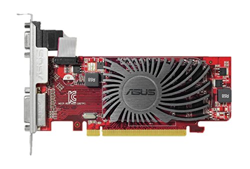 Asus -VGA Radeon R5230 Silent 1GB Low Profile Radeon R5 230 1GBDDR3 64 bit -  Asustek, 90YV06B0-M0NA00