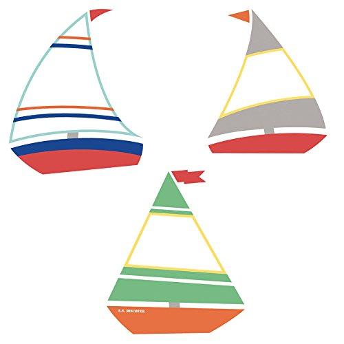 - S.S. Discover Sailboats Mini Cut-Outs