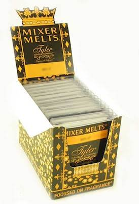 Tyler Case of 14 Scented Wax Mixer Melts or Wax Tarts - French-Vanilla-Oak