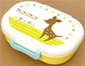 cute deer bento box lunch box kawaii kitchen dining. Black Bedroom Furniture Sets. Home Design Ideas
