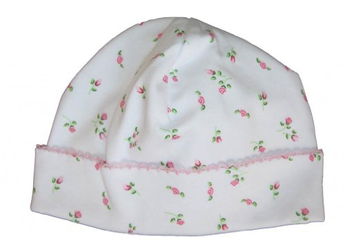 Kissy Kissy Baby Girls Garden Roses Print Hat- Newborn