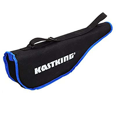 KastKing Telescopic Combo Fishing Rod Travel Bag Holds Rod Reel, Fishing Tackle Accessories, Shoulder Carry Strap
