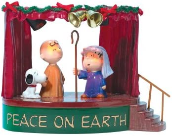Department 56 Peanuts Peace On Earth Christmas D cor