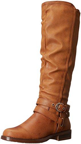 Tall Brown Boots (XOXO Women's Martin Wc Riding Boot, Tan, 7.5 M US)