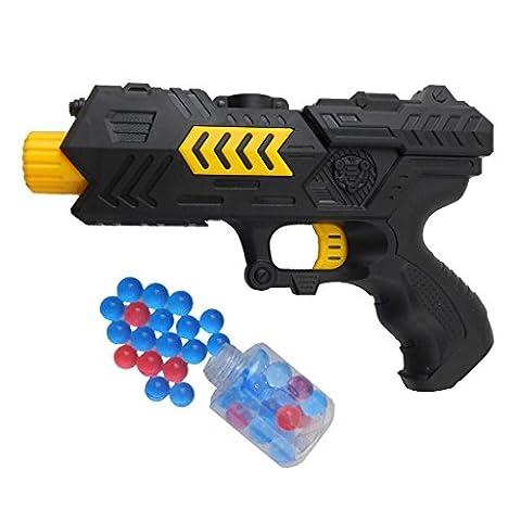 Stebcece Black Soft Bullet And Water Gun Toy with 200 Balls - Gun Sniper Set
