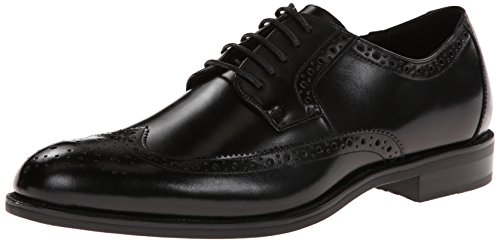 Stacy Adams Men's Garrison Wingtip Oxford,Black,12 M US