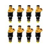 8 PCS Fuel Injectors Nozzles for Ford F150 F250 F350 E150 E250 E350 E450 Mustang Expedition Excursion Econoline Lincoln 4.6 5.0 5.4 5.8 0280150943
