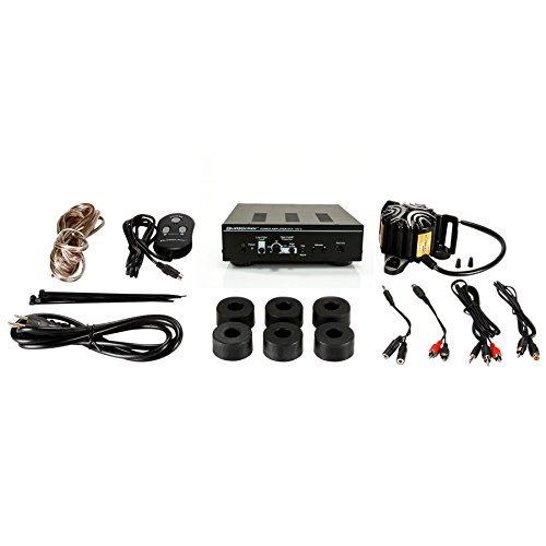 ButtKicker BK-SK Simulation Transducer Kit with 90W Amplifier and Cables -