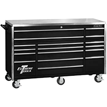 extreme tools ex5511rcbk 11 drawer roller cabinet with security drawer and ball. Black Bedroom Furniture Sets. Home Design Ideas
