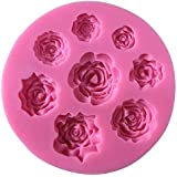 flower silicon mold cake decoration