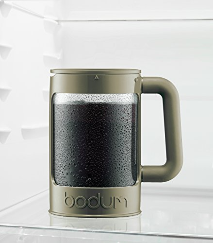 Bodum Bean Cold Brew Coffee Maker, Press, Plastic, 1.5 Liter, 51 Ounce, Black by Bodum (Image #3)