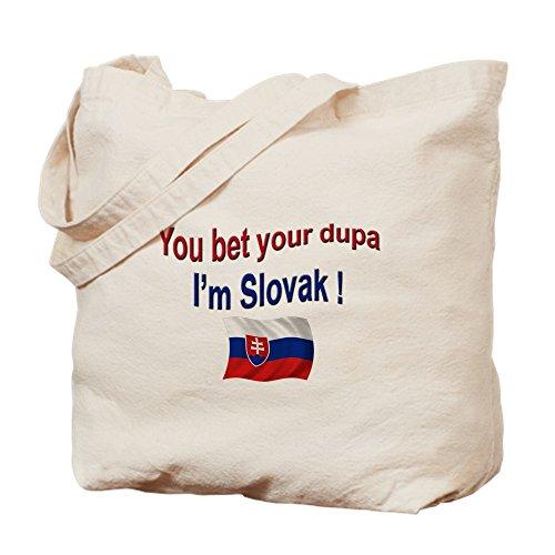 CafePress–Eslovaca Dupa 3–Gamuza de bolsa de lona bolsa, bolsa de la compra Small caqui