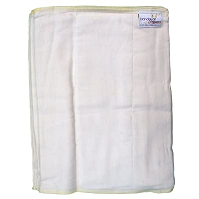 Dandelion Diapers 3 Piece Organic Cotton DSQ Prefolds