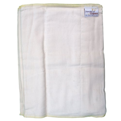 Dandelion Diapers Organic Unbleached Prefolds product image