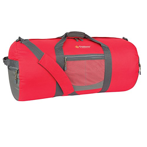Outdoor Products Utility Duffle, Large, Molten Lava